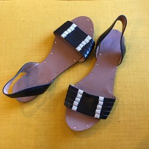 Madewell Black Sandals ||Size 6.5||